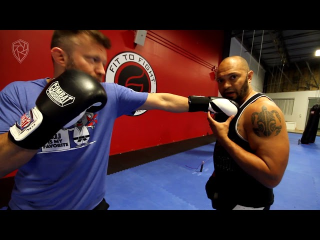 Single Mitt Pad Work for Boxing | MMA Coach Buck Grant