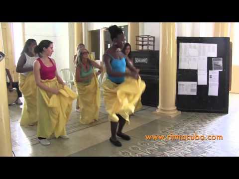 Danse afro-cubaine 2013 - Stage Ritmacuba à Santiago