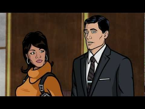 Random Movie Pick - Archer Season 1 DVD Promo YouTube Trailer
