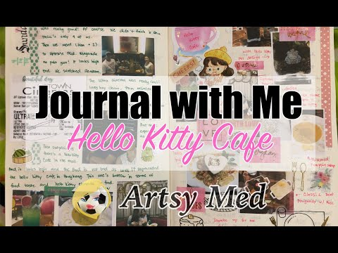 Hello Kitty Cafe | Journal With Me