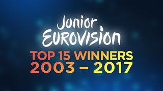 Junior Eurovision Song Contest  - All Winners Top