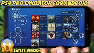 Download New PS4 Pro EMULATOR For Android || With Play Fortnite GTA 5 On Android ||