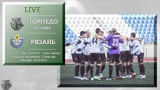 Torpedo Moscow vs Zvezda Ryazan full match