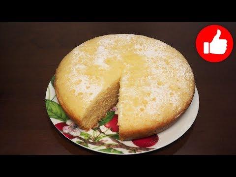 Лимонный бисквит в мультиварке рецепт
