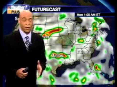 Gary Archibald's national weather forecast on NBC / CNBC / MSNBC