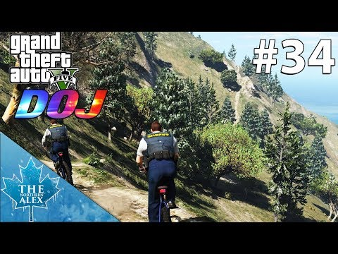 GTA V Department of Justice #34 - Ridealong with BCSO Wildlife Rangers - Law Enforcement