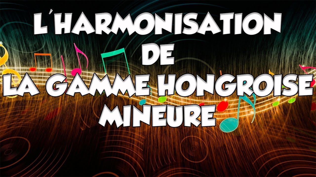 L'HARMONISATION DE LA GAMME HONGROISE MINEURE - LE GUITAR VLOG 182