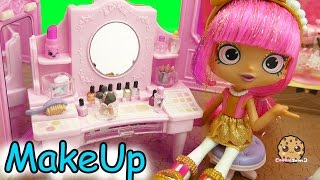 Shopkins Shoppies Dolls Get Makeup Make Overs At Boutique Cosmetic Counter thumbnail