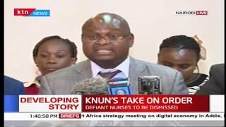 Defiant nurses' union insists strike is in order despite President Uhuru orders