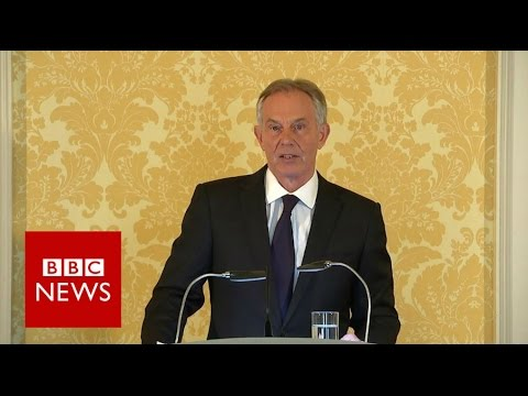 Tony Blair tells of 'sorrow and regret' over Iraq - BBC News