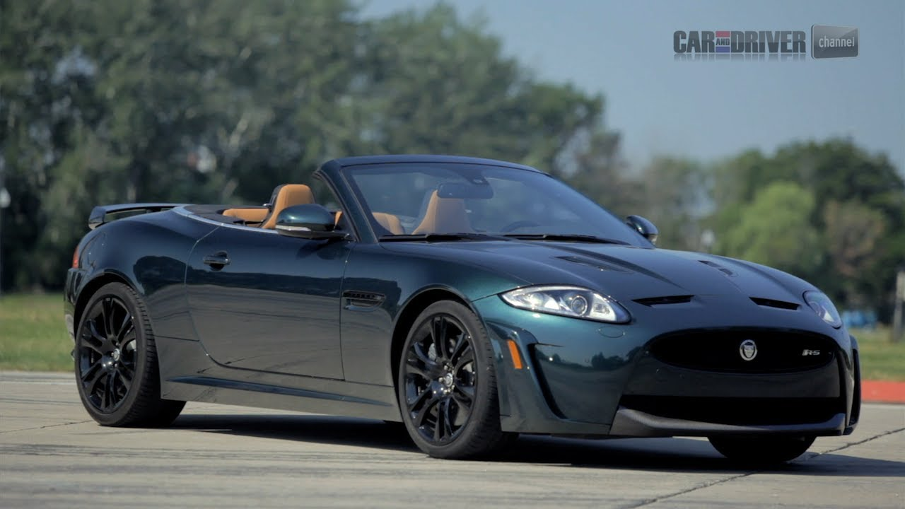 2012 jaguar xkr s convertible car and driver youtube