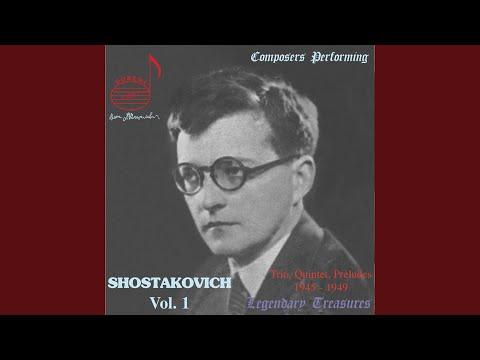 Piano Quintet In G Minor, Op. 57: III. Scherzo. Allegretto