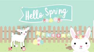 Dovecraft Hello Spring - Collection Overview   Hobbycraft