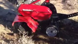 Yard Machine Rototiller Demo