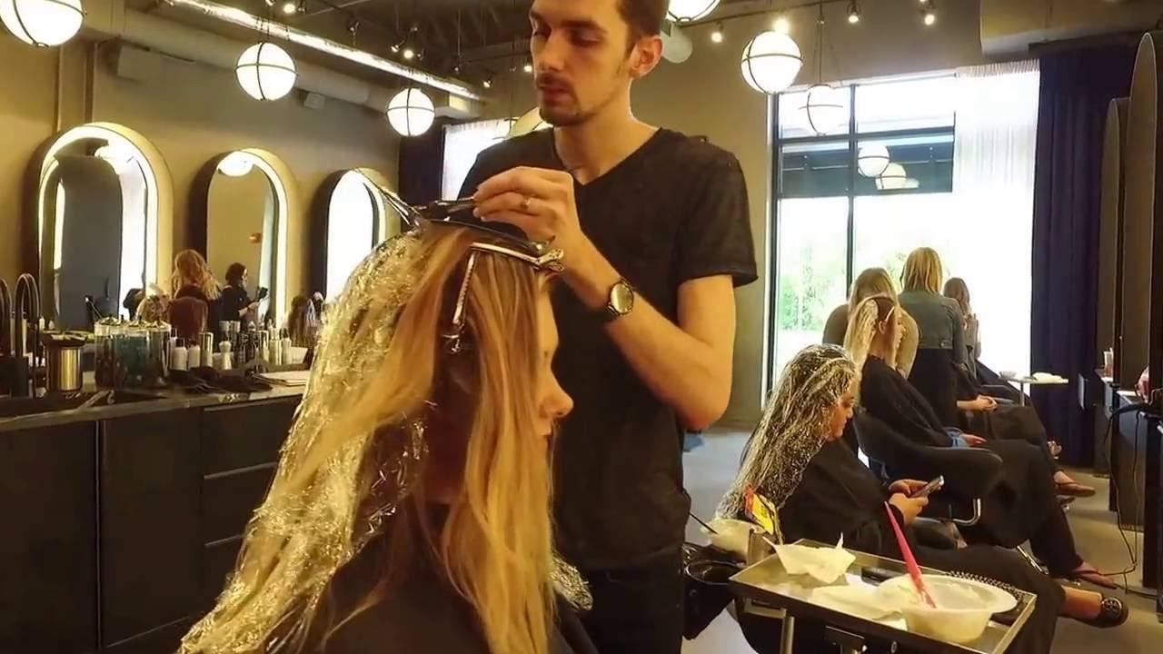 Indianapolis Top Oribe Hair Salon G Michael Salon In Action Youtube