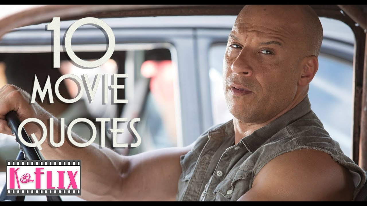 Best Quotable Lines From The Fast And The Furious Movie: 10 Fast And The Furious 8 Movie Quotes
