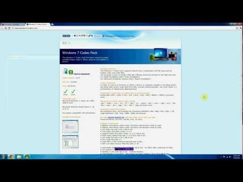 Easy - How to Play MKV, XVID, DIVX, and more on Windows Media Center
