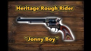 "REVIEW:  Heritage Rough Rider ""Jonny Boy""  X8 Multi-ammo testing, 22 LR, 22. Short & 22 WMR Magnum"