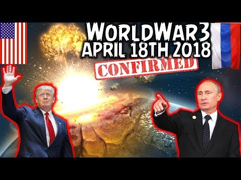 (CONFIRMED) WORLD WAR 3 IS STARTING! WILL THE WORLD END APRIL 18th - CREEPY VOICEMAIL | TRUMP SYRIA