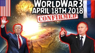 One of Ali H's most viewed videos: (CONFIRMED) WORLD WAR 3 IS STARTING! WILL THE WORLD END APRIL 18th - CREEPY VOICEMAIL | TRUMP SYRIA
