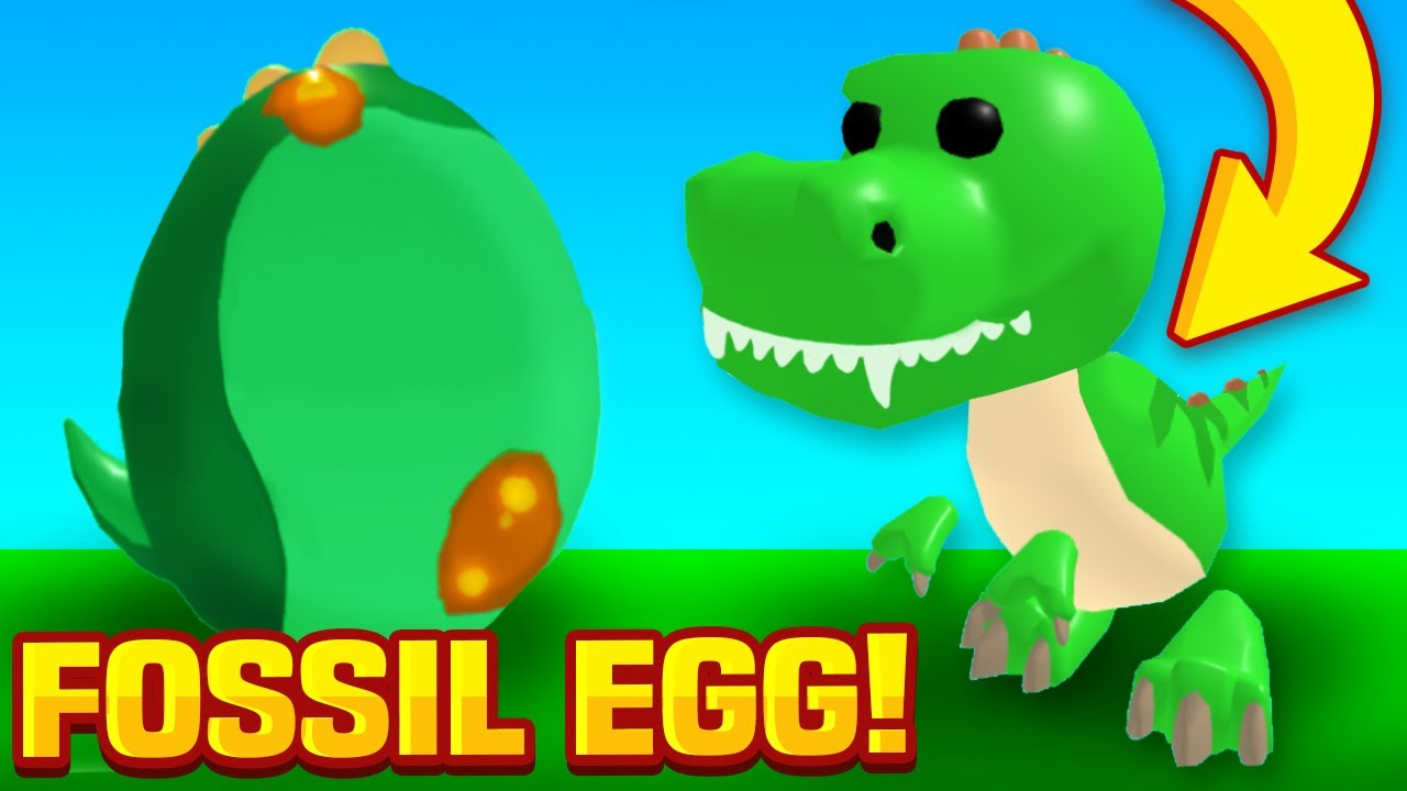 Adopt Me FOSSIL EGG Pets Access Leaks! New T-Rex Pet Release! Roblox Adopt Me Pets Update