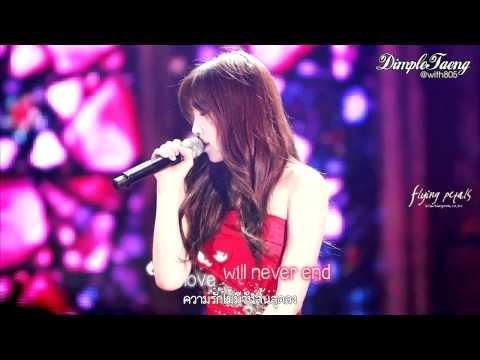 [Karaoke/Thaisub] My Grown Up Christmas List - Taeyeon (SNSD)