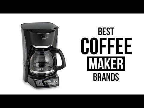 Top 5 Best Coffee Maker Brands Of 2017 Youtube