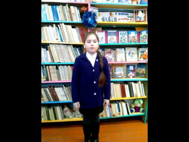 Изображение предпросмотра прочтения – АленаЗинина читает произведение «Чародейкою Зимою…» Ф.И.Тютчева