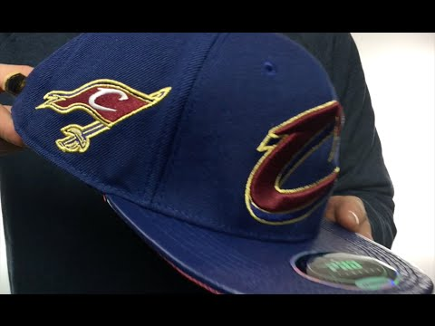 superior quality wholesale price outlet for sale Cavaliers 'TEAM-BASIC STRAPBACK' Navy Hat by Pro Standard - YouTube