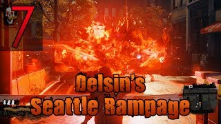 [7] Delsin's Seattle Rampage (let's Play Infamous: Second Son [evil Playthrough] W/ Galm)