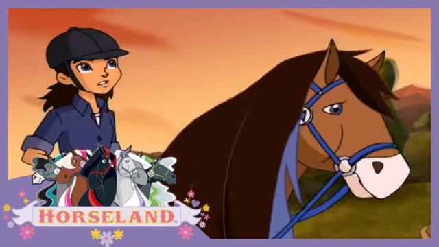 Horseland: New Pup in Town // Season 2, Episode 4 Horse Cartoon 🐴💜