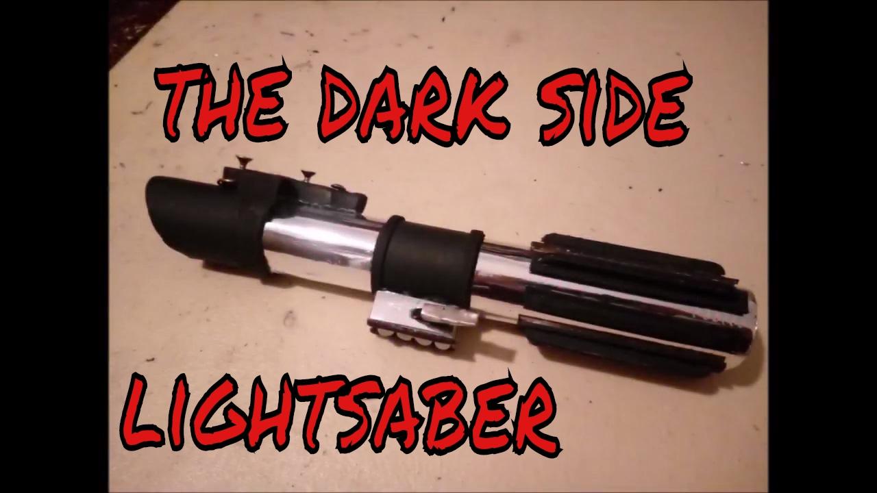 Make The Darth Vader Lightsaber - YouTube