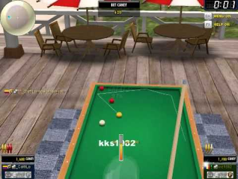 Carom 3D Game Play