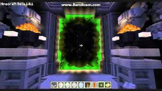 The Dark Portal in Minecraft Fantym Style