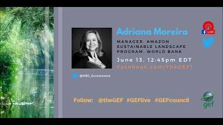 Adriana Moreira on #GEFlive 56th GEF Council