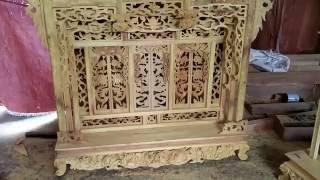 Repeat youtube video Khám thờ loại Đại,gỗ Mít trần