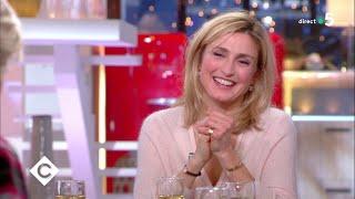 Au dîner avec Julie Gayet ! - C à Vous - 10/01/2019