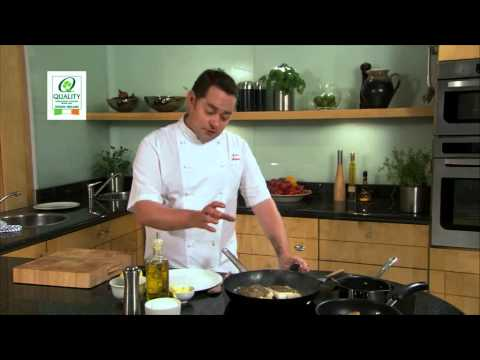 Let's Cook With Neven Maguire: Pan-Fried Hake With Lemon & Herb Butter Sauce