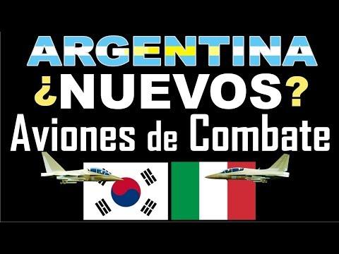 ARGENTINA: ¿NUEVOS AVIONES DE COMBATE?