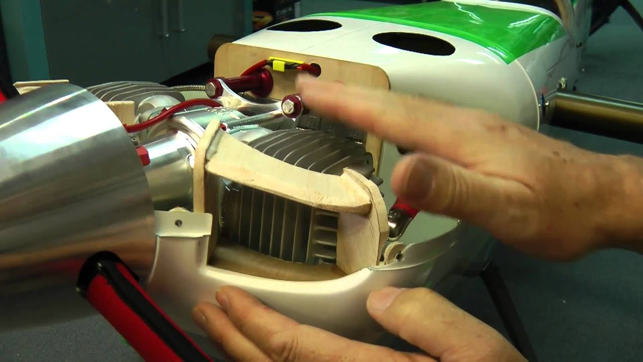Baffling Your Gas Rc Engine For Better Cooling Youtube