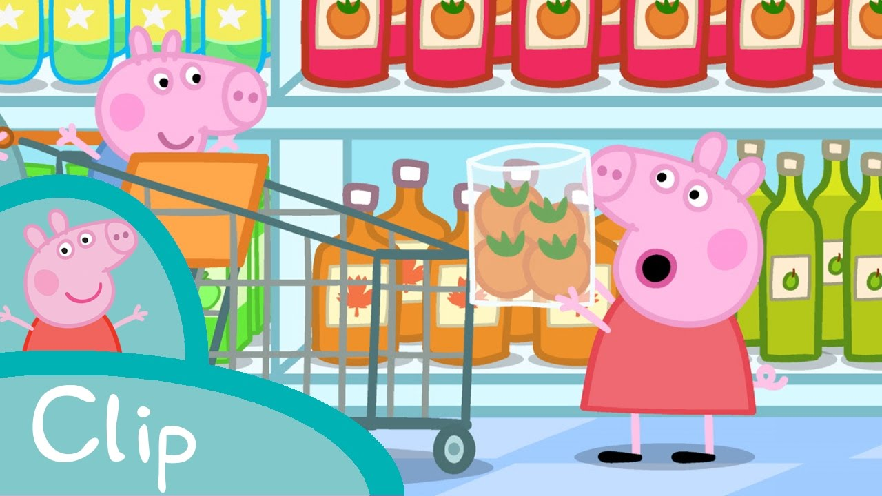 Peppa pig fran ais tomates youtube - Peppa pig francais piscine ...