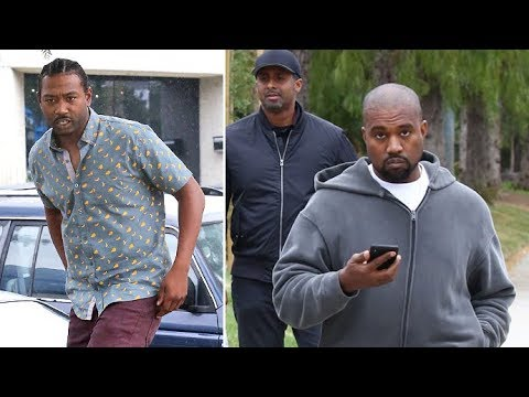 Kanye West Approached By An Aspiring Rapper From Long Beach At His Office In Calabasas Amid Threats