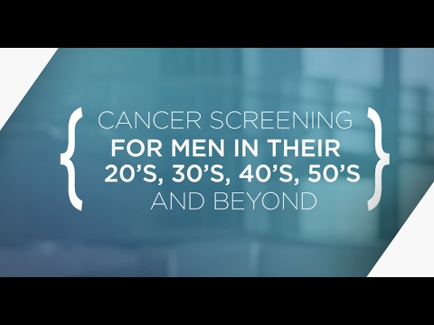 What Tests Should Men Get To Screen For Cancer?
