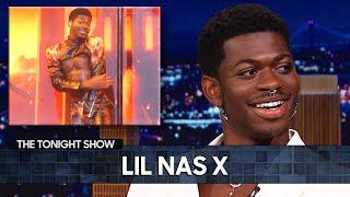 Lil Nas X Detąils His SNL Wardrobe Malfunction | The Tonight Show Starring Jimmy Fallon