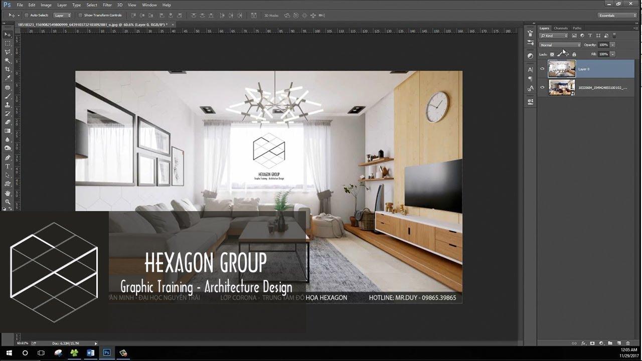Blend Mode – các chế độ hòa trộn trong Photoshop và ứng dụng