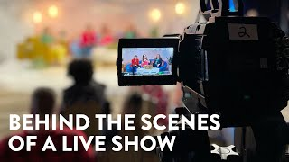 Behind The Scenes Tour of a Live Production | Cameras and Stuff