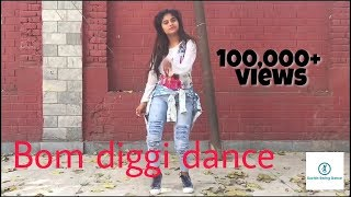 Bom diggy dance song by aanchal ||Bom diggy dance choreography ||sonu ke titu ki sweety movie song