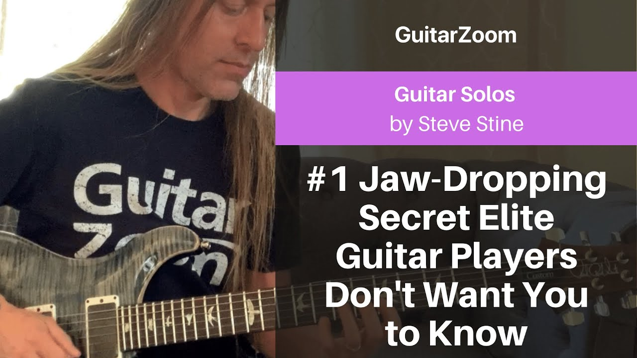#1 Jaw-Dropping Secret Elite Guitar Players Don't Want You to Know | Guitar Solos Workshop