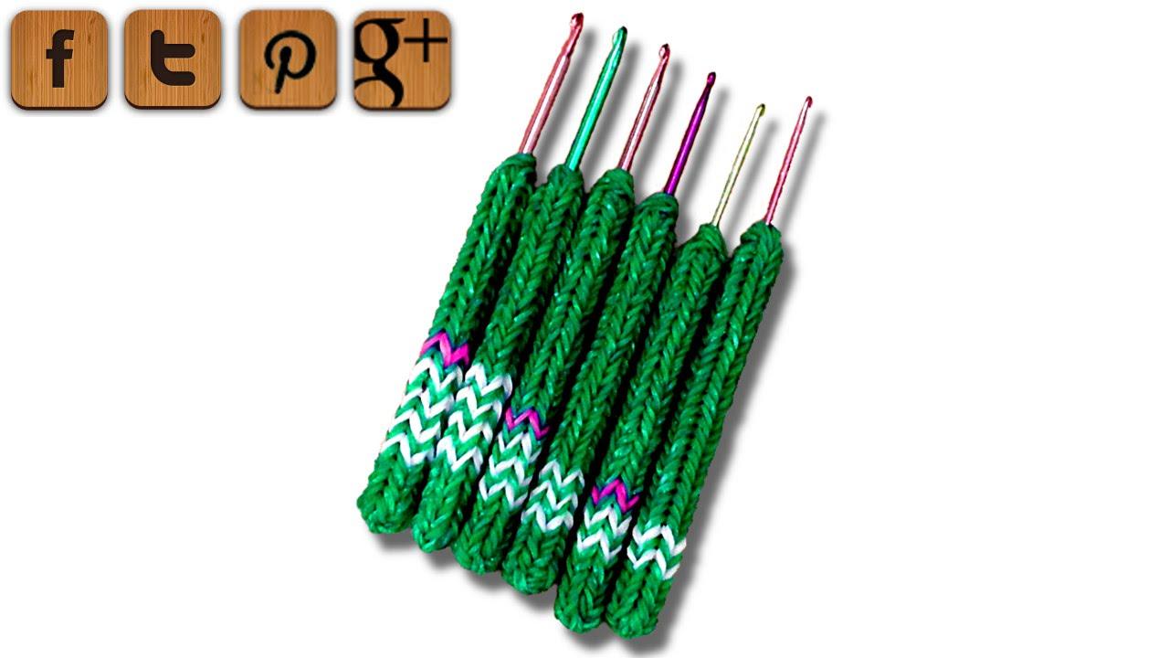 Diy Soft Grip Handle For Crochet Hooks Dr Loom