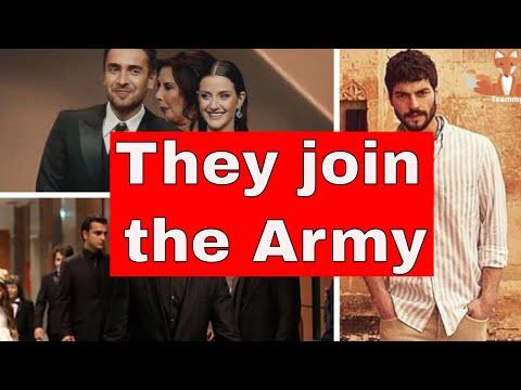 Aras, Akin and Ulaş go to the army